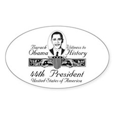 President Barack Obama Victory Oval Decal