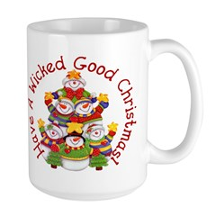 Wicked Good! Snowmen Large Mug
