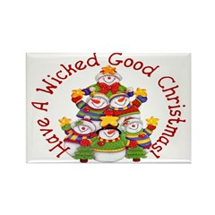Wicked Good! Snowmen Magnets (10 pack)