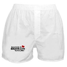 Somebody In Brooklyn Loves Me Boxer Shorts