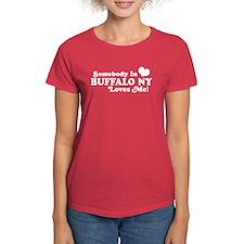 Somebody In Buffalo NY Loves Me Tee