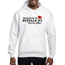 Somebody In Buffalo NY Loves Me Hoodie