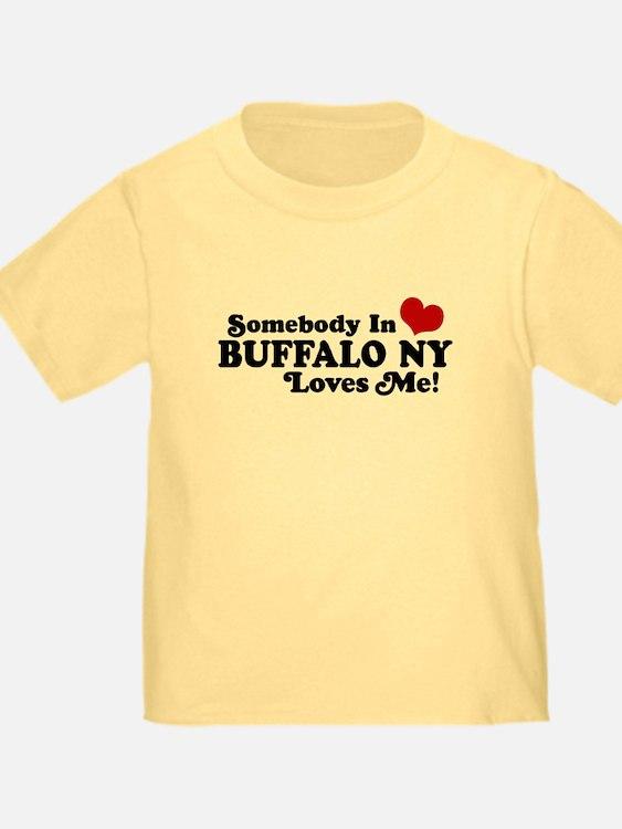 Somebody In Buffalo NY Loves Me T