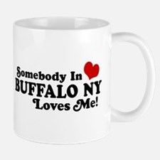 Somebody In Buffalo NY Loves Me Mug