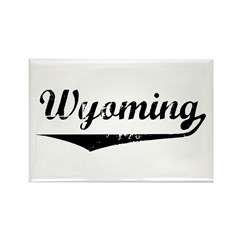 Wyoming Rectangle Magnet (100 pack)