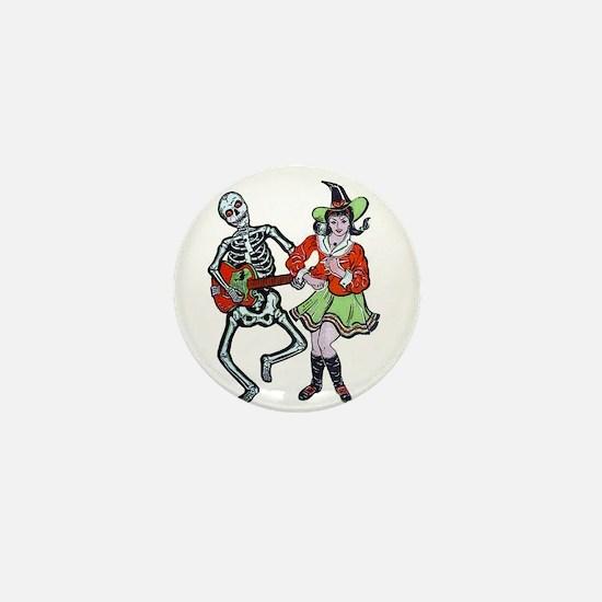Halloween A-GO-GO Mini Button
