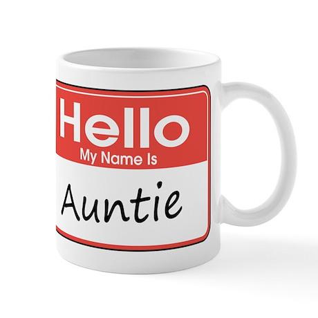 Hello, My Name is Auntie Mug