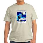 Somebody Blabbed Gossip (Front) Light T-Shirt