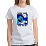 Somebody Blabbed Gossip Women's T-Shirt