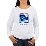 Somebody Blabbed Gossip Women's Long Sleeve T-Shir
