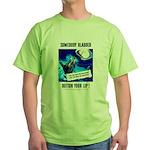 Somebody Blabbed Gossip Green T-Shirt