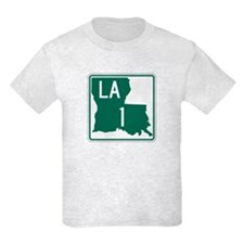 Highway 1, Louisiana T-Shirt