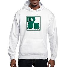 Highway 1, Louisiana Hoodie Sweatshirt