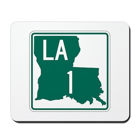 Highway 1, Louisiana Mousepad