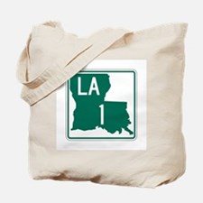 Highway 1, Louisiana Tote Bag