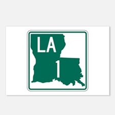 Highway 1, Louisiana Postcards (Package of 8)