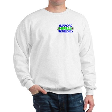 SUPPORT HERBAL REMEDIES Sweatshirt