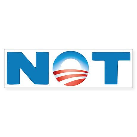 NOT 2008 Bumper Sticker (10 pk)