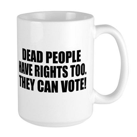 Voter Fraud Large Mug