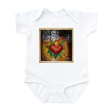 Sacred Heart 8 Infant Bodysuit