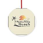 Satellite Beach Keepsake (Round)