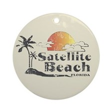 Satellite Beach Keepsake (Round)