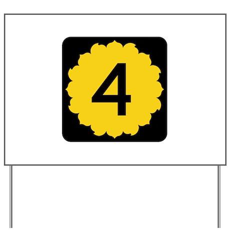 K-4, Kansas Yard Sign