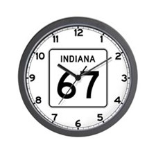 State Road 67, Indiana Wall Clock