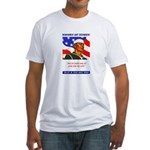 Enlist in the US Navy Fitted T-Shirt