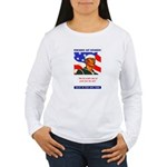 Enlist in the US Navy (Front) Women's Long Sleeve