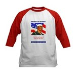 Enlist in the US Navy (Front) Kids Baseball Jersey