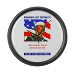 Enlist in the US Navy Large Wall Clock