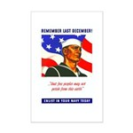 Enlist in the US Navy Mini Poster Print