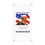 Enlist in the US Navy Banner