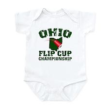 Ohio U. Flip Cup Infant Creeper