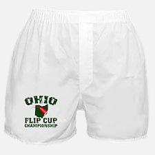 Ohio U. Flip Cup Boxer Shorts
