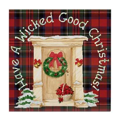 Wicked Good! Christmas Home Tile Coaster