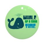 Whale of a Good Time Keepsake (Round)