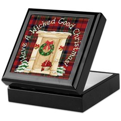 Wicked Good! Christmas Home Keepsake Box