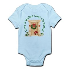 Wicked Good! Christmas Home Infant Bodysuit