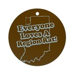 Everyone Loves A Region Rat Keepsake (Round)