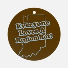 Everyone Loves A Region Rat Keepsake (Round)