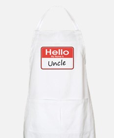 Hello, My Name is Uncle BBQ Apron