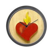 Sacred Heart 9 Wall Clock