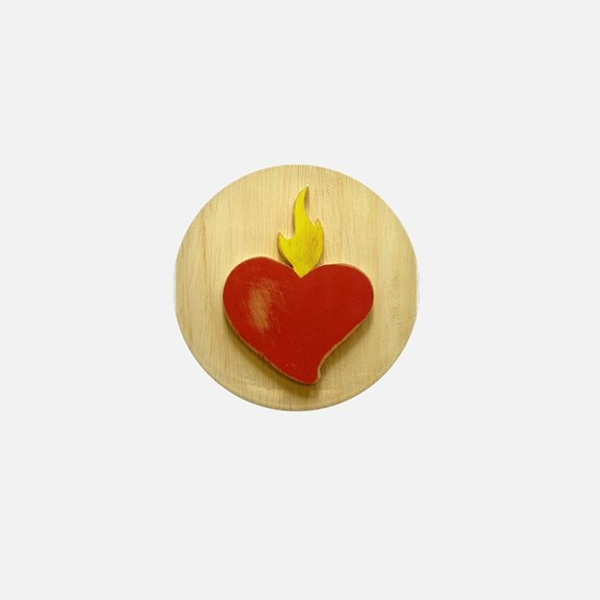 Sacred Heart 9 Mini Button