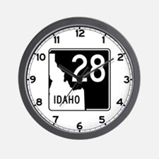 State Highway 28, Idaho Wall Clock