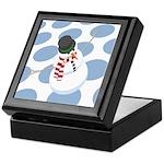 Bliz the Snowman Dotted Keepsake Box