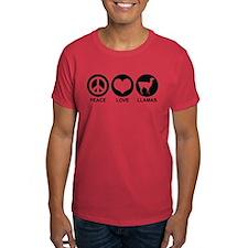 Peace Love Llamas T-Shirt
