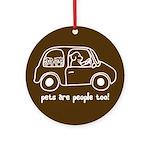 Pets Are People Too! Keepsake (Round)