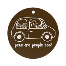 Pets Are People Too! Keepsake (Round)